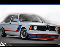 Bmw e21 Turbo Look Project