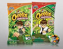 Cheetos - Promoción Atrapa los Super Poderes de Ben 10