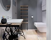 Projekt łazienki 3m