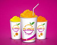 Zumix Cremoladas / Branding / Logotipo / Identidad