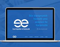 ikie danışmanlık web arayüz tasarımı
