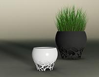 Advanced Surfacing - Plant pot
