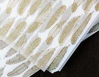 Custom Gold Tissue Paper