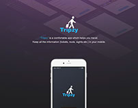 Tripzy - mobile application for traveling