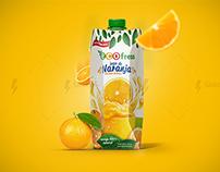 Ecofresh / packing fruit / packing fruta /  jugo