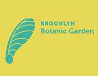 Brooklyn Botanic Garden Identity