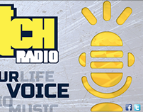 """Scratch Radio"" Branding"