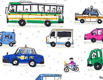 OKINAWA TRAVEL _THOMAS&RONNI_DRAWING DIARY