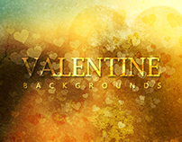 Valentine backgrounds - $4