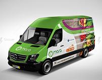Mara bio market / rotulación vehicular /  Brandeo