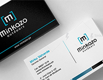 Identidad corporativa Minkazo / Branding minkazo logo