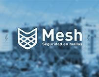 Mesh branding / Identidad corporativa malla / papelería