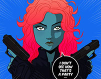 Fanarts 2014 (Marvel, Anime & movies)