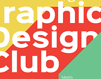 Graphic Design Club Poster