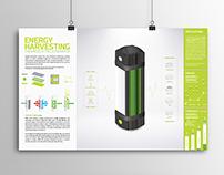 Energy Harvesting Thermoelectric Generator, Infographic