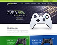 Scuf Gaming - Website Redesign