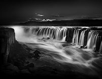 Selfoss Waterfall Iceland