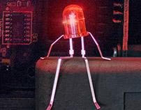 the four LEDs
