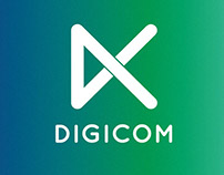"Branding of a internet provider ""DIGICOM"""