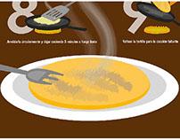 Instructivo - Cómo preparar tortilla de arroz
