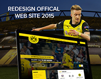 BORUSSIA DORTMUND REDESIGN WEBSITE