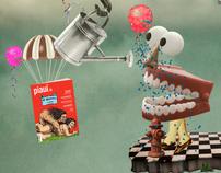 Campanha de aniversário de 5 anos da revista Piauí