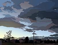 Digital Paintings - Clouds
