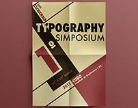 Typography Simposium Poster