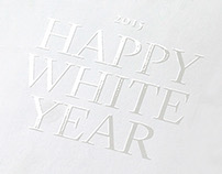 Happy White Year
