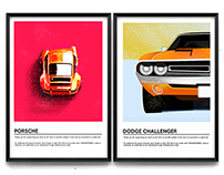 Epic cars prints WIP