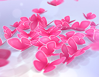 Heart of Butterflies: Valentine's Day Greeting