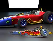 Carrão Aerodinâmico Turbo Terrific