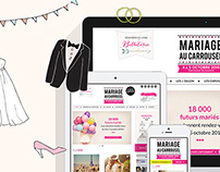 Marie Claire - Website, branding & illustrations