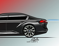 BMW 9 series vision by Issam Trabelsi