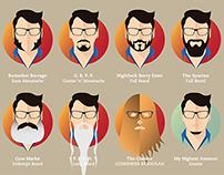 Beard Frustration / Guerra de Ilustrações XLI