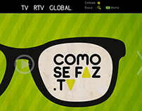 Como Se Faz TV Website