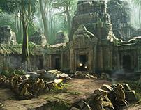 Lost Horizon Game concept sketches