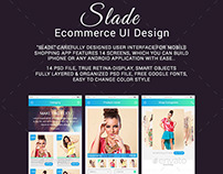 Slade Ecommerce UI Design