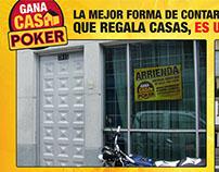 Gana Casa Poker - Se Arrienda / Finalista Nova 2010