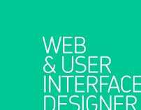 Web & User Interface Designer