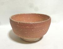 Tea bowl  - Anagama