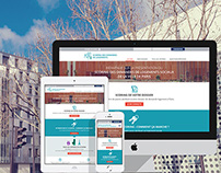 Mairie de Paris responsive website