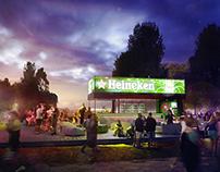 Heineken pavilion design