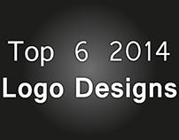 Top 6 Logo Designs of 2014