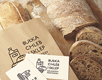 Bread shop rebranding