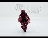 The Walking Crystals | Particle CGI Test