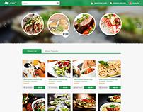 Food Website Demo