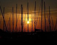 Sunset in Procida