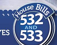 House Bills 532 & 533