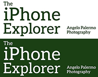 The iPhone Explorer | Logo & Identity